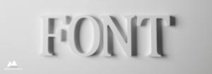 Fontit ovat tärkeä kotisivujen graafisen suunnittelun elemententti
